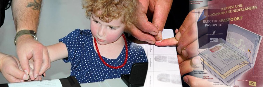 From the age of twelve children will also have to give their fingerprints. Biometric information of face and fingers of younger children - from their birth on till twelve - is not yet seen as viable with the actual state of the technology