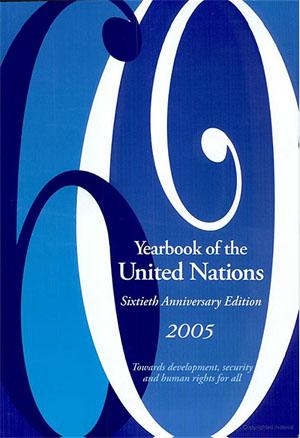 De weergave van hetzelfde gebeuren in het jaarverslag van de Verenigde Naties 2005 op de pagina's 386/387; link is naar de Google Books online versie van dit rapport. Klik plaatje om naar link te gaan....