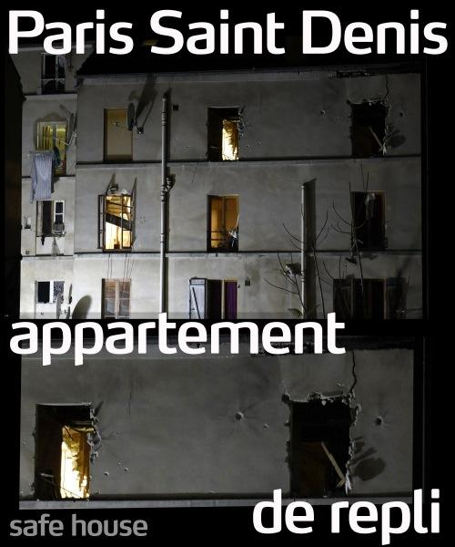 ParisSaintDenisApartmentDeRepli
