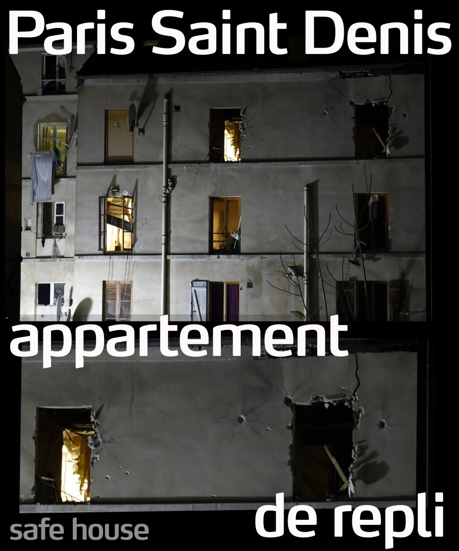 ParisSaintDenisApartmentDeRepli