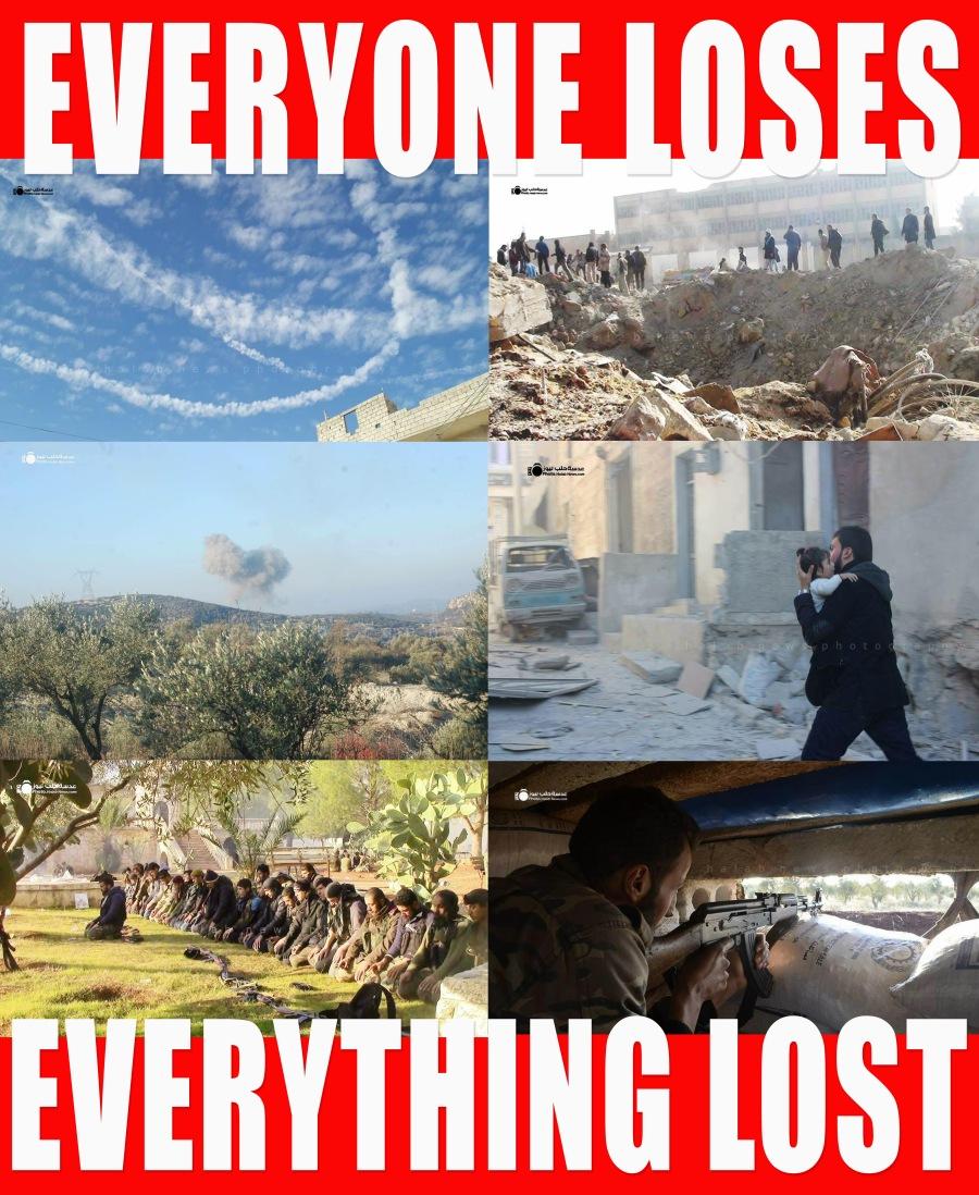 SyriaEveryoneLosesEverythingLost