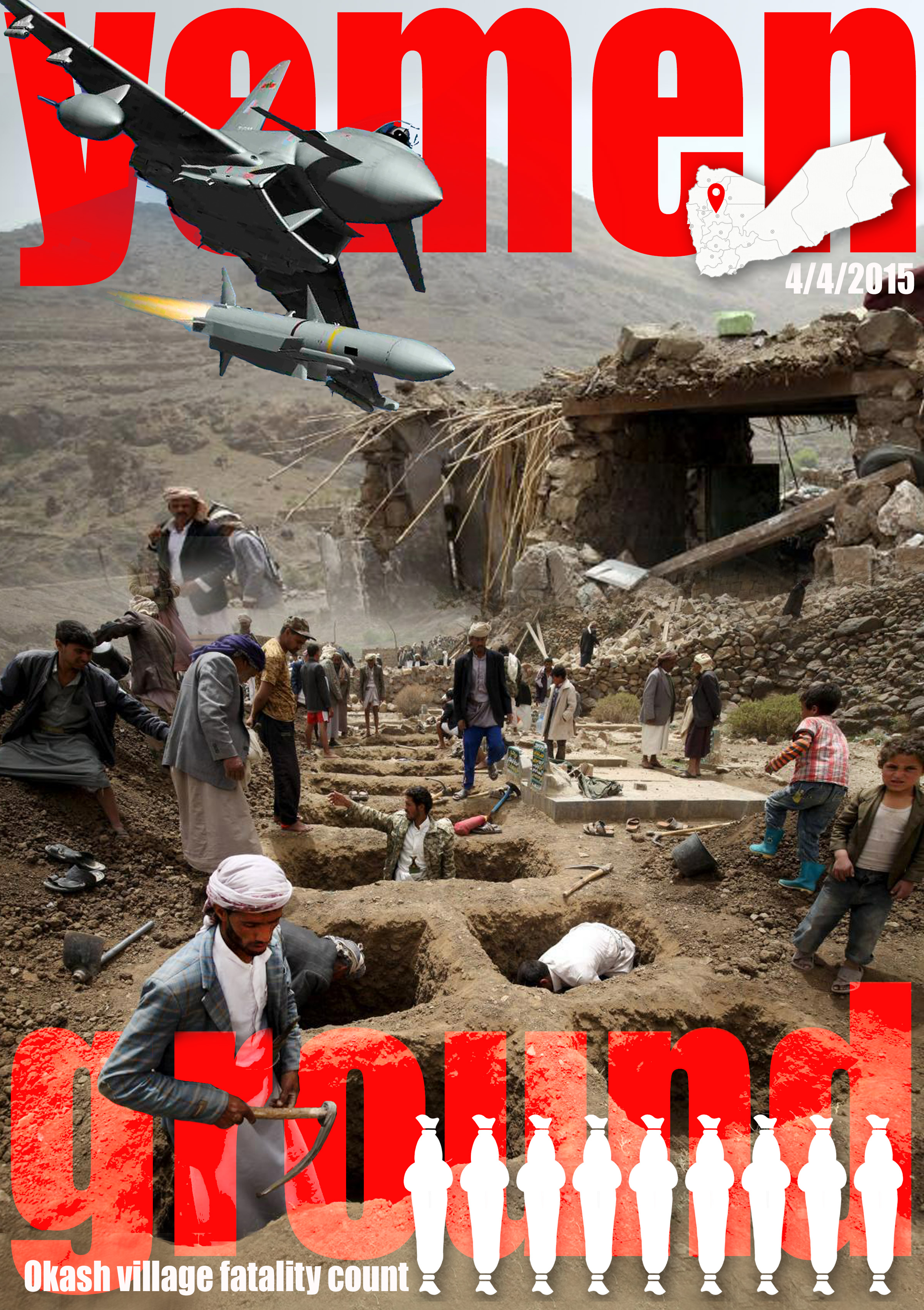 Yemen Ground Zero in Okash near Sanaa on 442015 =_16856412329_o