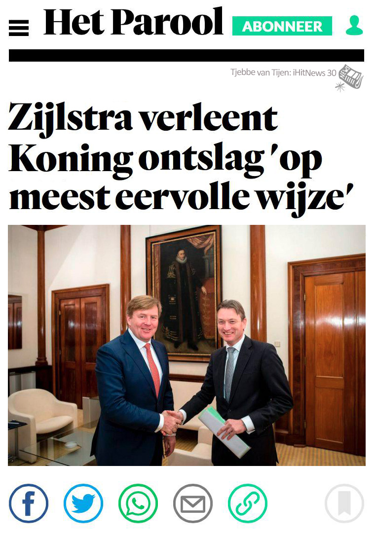 iHitNews30_Zijlstra-verleent-koning-ontslag